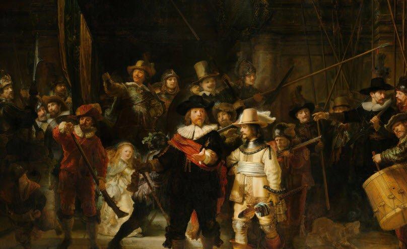 Nachtwacht Rembrandt - Rijksmuseum