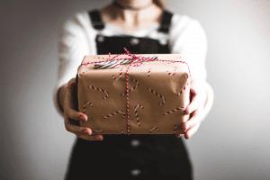 Cadeau voor collega